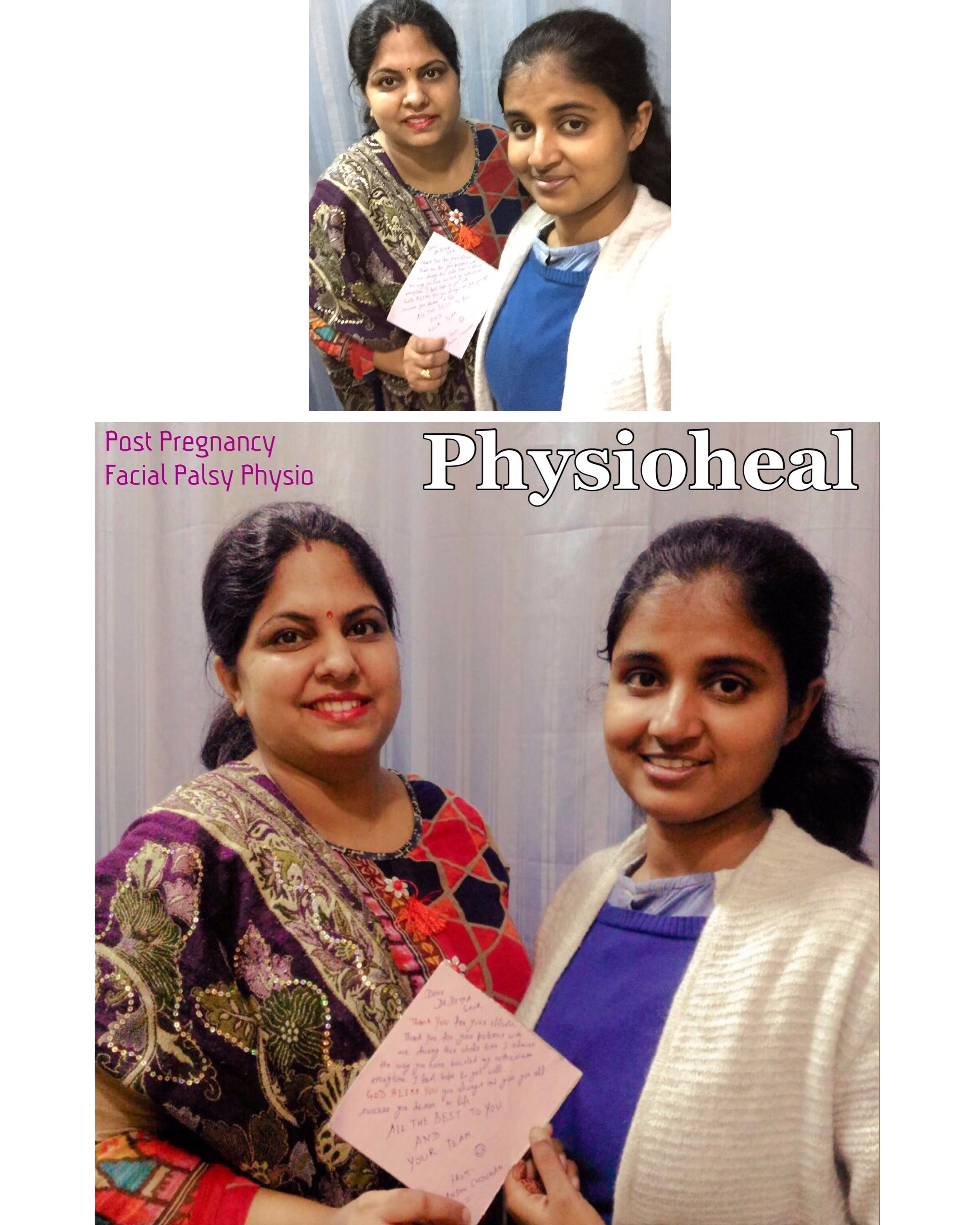 Therapeutic Laser & Post Pregnancy Facial Palsy!