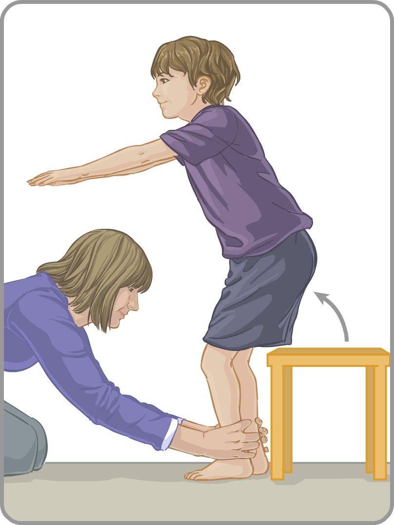 toe walking exercises